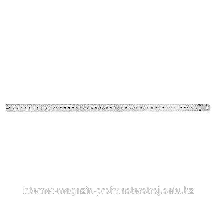 Линейка измерительная, 150 мм, металлическая, РОССИЯ