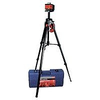 Уровень лазерный, 100 мм, 1300 мм штатив, крутящая голова ротац., набор пластиковом кейсе, MATRIX