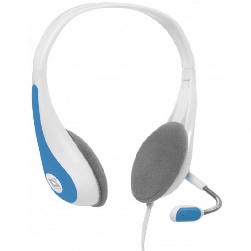 Наушники-гарнитура Defender Esprit HN-836 / 63838 (бело-синий)