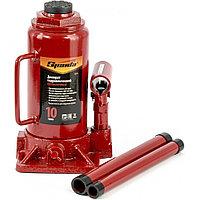 Домкрат гидравлический бутылочный, 10 т, h подъема 200-385 мм, SPARTA