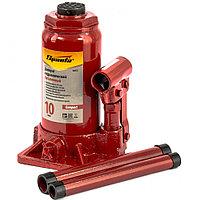 Домкрат гидравлический бутылочный 10 т, h подъема 190-370 мм, SPARTA Compact