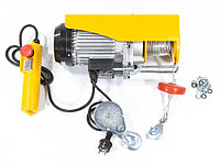 Тельфер электрический TF500, 0.25/0.5 T, 1020 Вт, высота 6/12 м, 10 м/с, DENZEL, фото 1