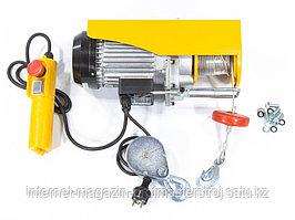 Тельфер электрический TF500, 0.25/0.5 T, 1020 Вт, высота 6/12 м, 10 м/с, DENZEL