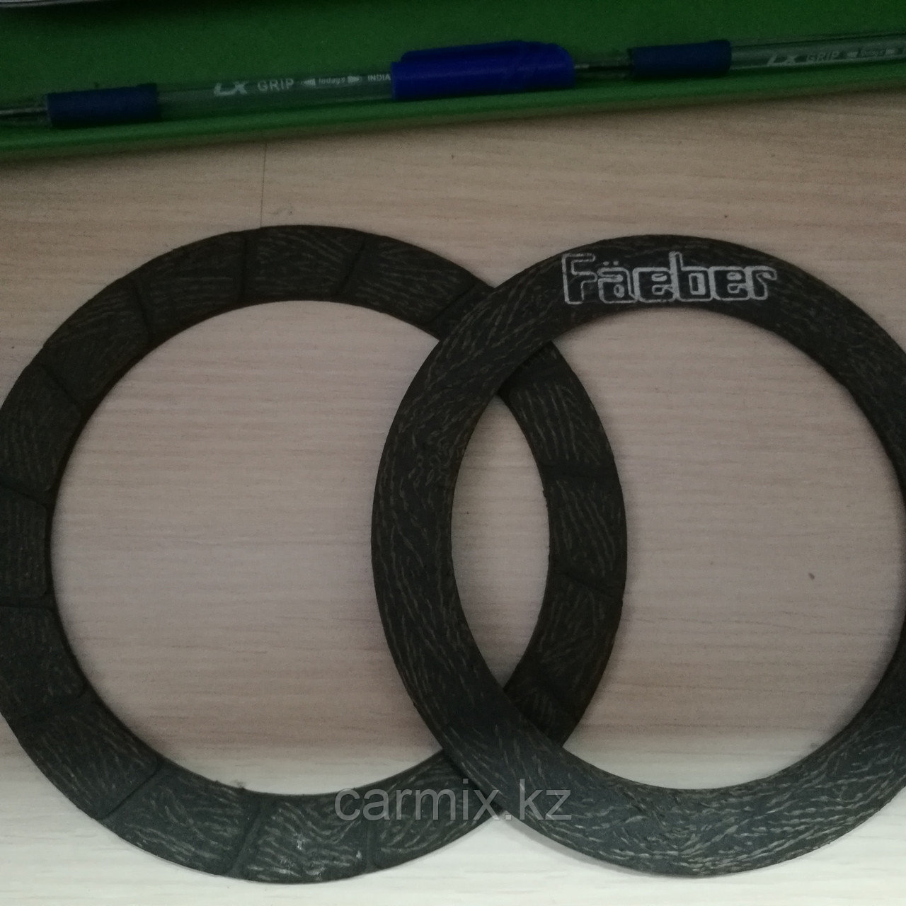 Накладки на диск сцепления 125 MM на 165 MM