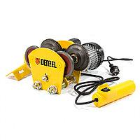 Электрокаретка для тельфера, T-1000, 1 т, 540 Вт, DENZEL