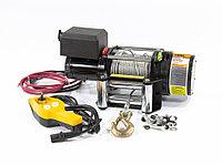 Лебедка автомобильная электрическая, LB-2000, 2.2 т, 3.2 кВт, 12 В, DENZEL