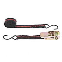 Ремень багажный с крюками, 5 м, храповый механизм, Automatic, SPARTA