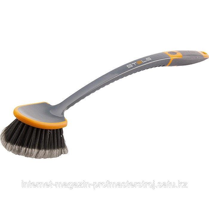 Щетка для мытья автомобиля с двухкомпонентной рукояткой, STELS
