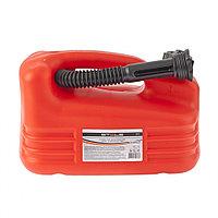 Канистра для топлива, пластиковая, 5 литров, STELS