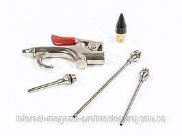 Набор продувочный пистолет, пневмат., в комплекте с насадками, 4 шт., MATRIX