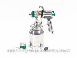 Краскораспылитель AS 702 HP, профессиональный, всасывающего типа, сопло 1.8 мм и 2 мм, STELS
