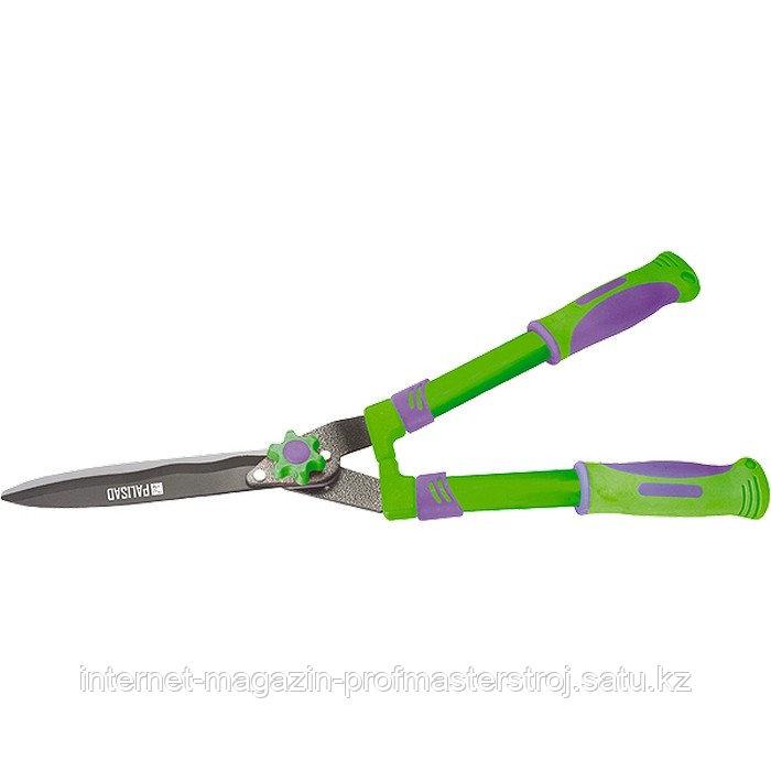 Кусторез, 560 мм, волнистые лезвия, двухкомпонентные ручки, PALISAD