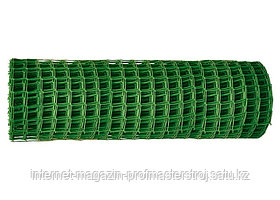 Садовая решетка в рулоне 1 x 20 м, ячейка 50 x 50 мм, зеленая, РОССИЯ