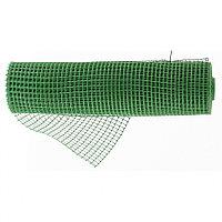 Садовая решетка в рулоне 0.8 x 20 м, ячейка 15 x 20 мм, зеленая, РОССИЯ