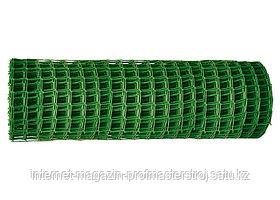 Садовая решетка в рулоне 1.5 x 25 м, ячейка 70 x 58 мм, зеленая, РОССИЯ