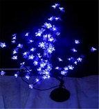 Светодиодные LED кусты, 0,8 м. Цвет; Красный, розовый, желтый, белый, синий, молочный, синий-красный, фото 2