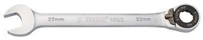 Ключ кованый комбинированный с храповиком 160/2