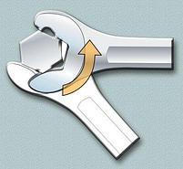 Ключ комбинированный IBEX 129/1, фото 6