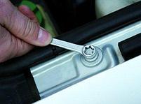 Ключ накидной плоский с профилем TORX и отогнутыми головками 182/2BTX, фото 3