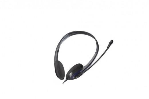 Наушники с микрофоном Microlab K-220, черный