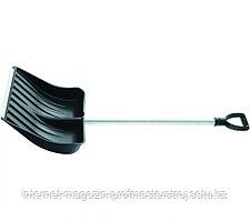 Лопата снеговая, 512 x 408 мм, алюминиевый черенок, морозостойкий пластик, СИБРТЕХ Россия