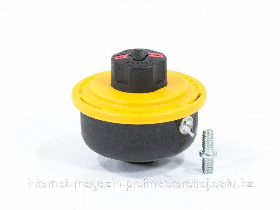Катушка триммерная полуавтоматическая, легкая заставка лески, гайка M8 x 1.25, винт M8-M8, DENZEL