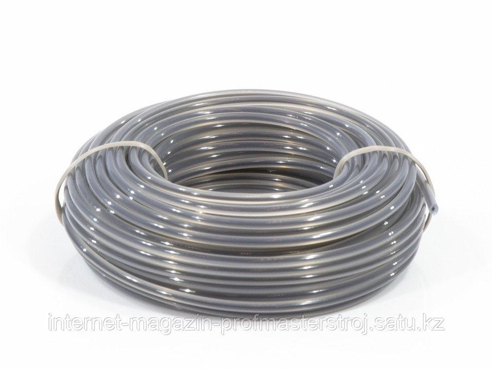 Леска двухкомпонентная для триммера, круглая, 2.4 мм x 15 м, Extra cord, DENZEL