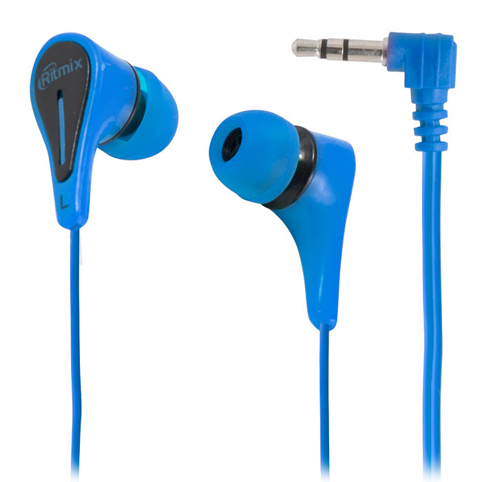 Наушники Ritmix RH-012, Синий