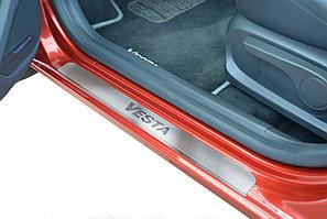 Накладки на пороги (4шт) (НПС) LADA Vesta 2015-