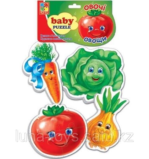 """Игр.набор """"Мягкие пазлы""""  """"Baby puzzle Овощи"""""""