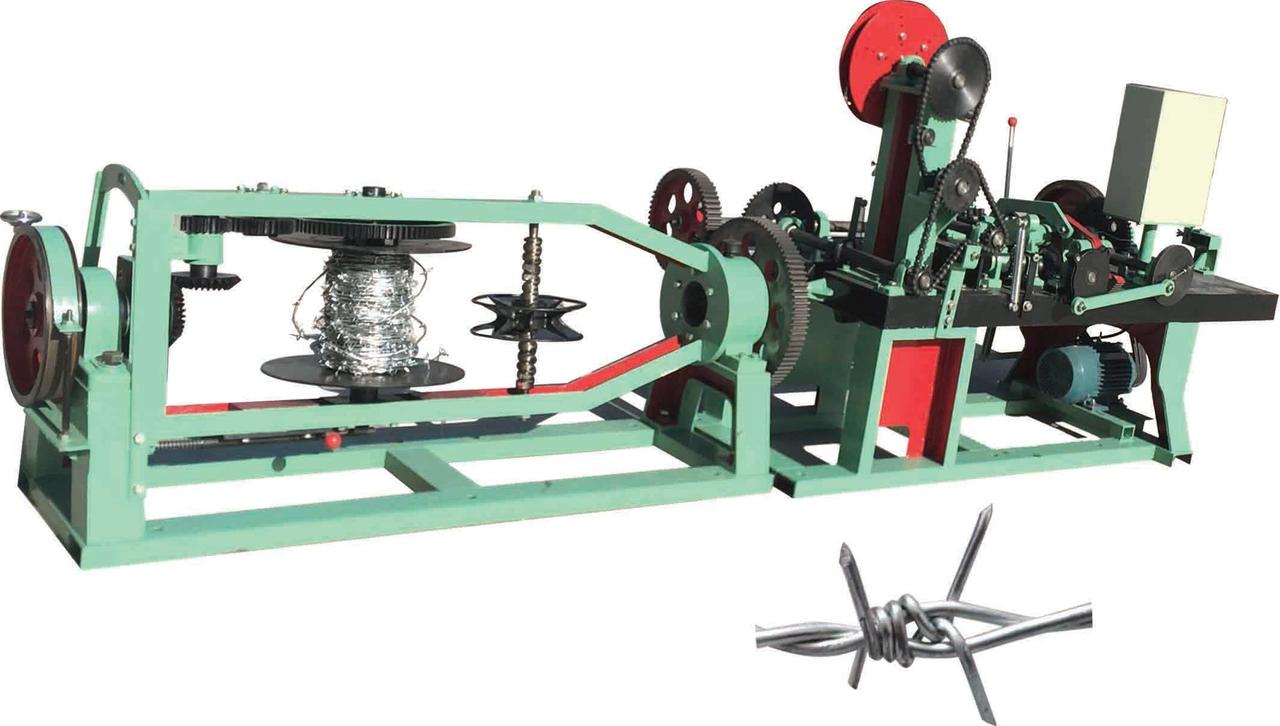 Оборудование для изготовления двухосновной колючей проволоки