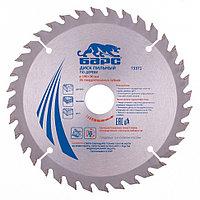Пильный диск по дереву 190 x 30 мм, 36 зубьев твердосплавных зуба, БАРС, фото 1