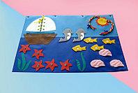 Коврик дидактический Море