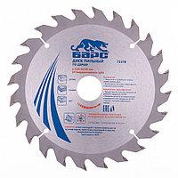 Пильный диск по дереву 210 x 32/30 мм, 24 зуба твердосплавных зуба, БАРС, фото 1