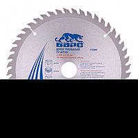 Пильный диск по дереву 250 x 32/30 мм, 48 зубьев твердосплавных зуба, БАРС, фото 1
