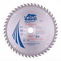 Пильный диск по дереву 300 x 32/30 мм, 48 зубьев твердосплавных зуба, БАРС, фото 1