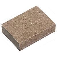 Губка для шлифования, 100 x 70 x 25 мм, мягкая, 3 шт., P 60/80, P 60/100, P 80/120, MATRIX