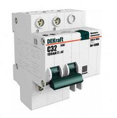 Автоматическое устройство защитного отключения АВДТ (АД12) 2P 50А 30мА DEKraft