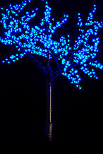 """Cветодиодное дерево """"Сакура"""" 2,5 м Цвет: зеленый, красный, желтый, синий,белый,сиреневый, розовый"""
