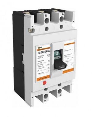 Автоматический выключатель ВА 302 3P 100А 25кА С DEKraft