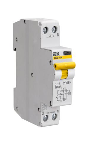 Автоматическое устройство защитного отключения УЗО АВДТ 32 16А