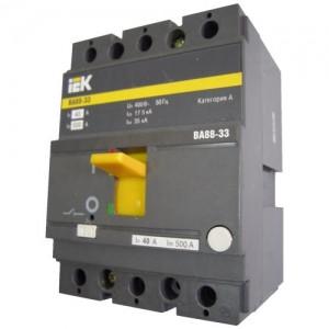 Автоматический выключатель ВА 88-33 (3ф) 160А 3 полюсный