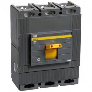Автоматический выключатель ВА 88-40 (3ф) 500А 3 полюсный