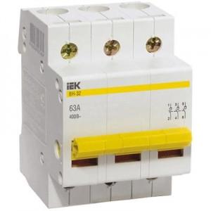 Выключатель нагрузки ВН-32 (3ф) 100А IEK (80)
