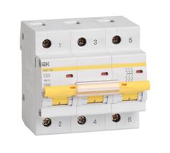 Автоматический выключатель BA 47-100 (3ф) 50А