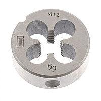 Плашка M12 x 1.75 мм, СИБРТЕХ