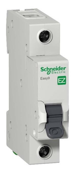 Автоматический выключатель F34163 EZ9 ВА 1ф 63А 4,5кА 1 полюсный