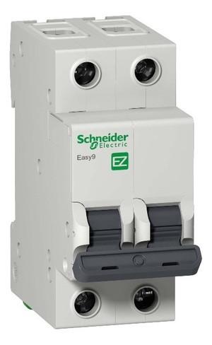 Автоматический выключатель F34210 EZ9 ВА 2ф 10А 4,5кА 2 полюсный