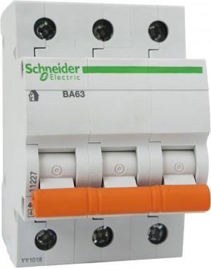 Автоматический выключатель 11228 ВА 63 (3ф) 50А 3 полюсный