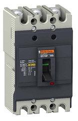 Автоматическое устройство защитного отключения EZC100 10KA 400B 3П/3T 80А